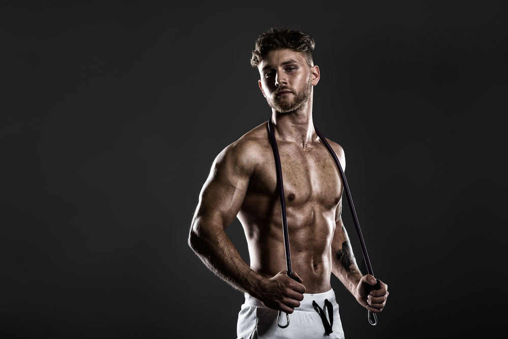 how to get a toned body male
